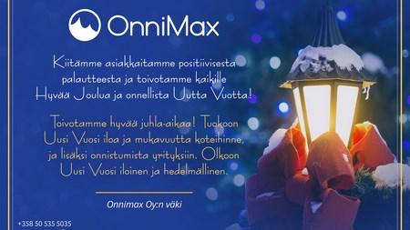 Toivotamme kaikille Hyvää Joulua ja Onnea vuodelle 2020!